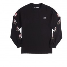 LRG Roses Long Sleeve T-Shirt - Black