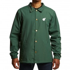 The Hundreds Bar Logo Coaches Jacket - Forest