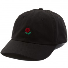 The Hundreds Rose Strapback Hat - Black