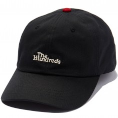 The Hundreds Hub Dad Hat - Black