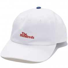 The Hundreds Hub Dad Hat - White