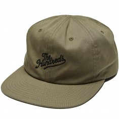 The Hundreds Slant Snapback Hat - Dusty Olive