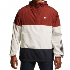 The Hundreds Overland Anorak Jacket - Burgundy
