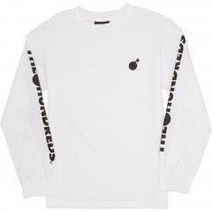 The Hundreds Forever Solid Crest Longsleeve T-Shirt - White
