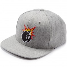 The Hundreds Adam Snapback Hat - Athletic Heather