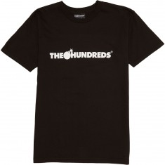 The Hundreds Forever Bar Logo T-Shirt - Black