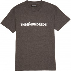 The Hundreds Forever Bar Logo T-Shirt - Charcoal Heather