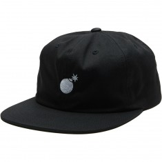 The Hundreds Seed Logo Snapback Hat - Black