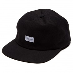 The Hundreds W17 Script Snapback Hat - Black