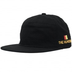 The Hundreds Canyon Snapback Hat - Black