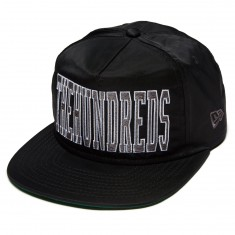 The Hundreds Law Snapback Hat - Black
