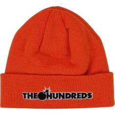 The Hundreds Bar Logo Beanie - Orange