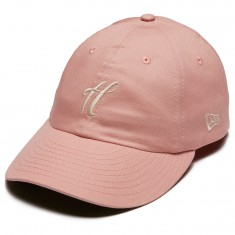 The Hundreds Ground Snapback Hat - Pale Mauve