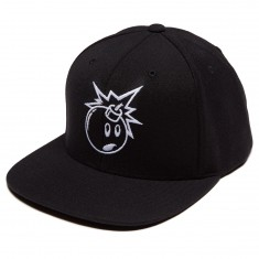 The Hundreds Alias Snapback Hat - Black