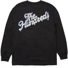 The Hundreds Ooze Slant Longsleeve T-Shirt - Black