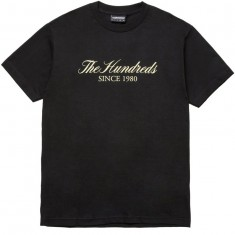 The Hundreds Rich Logo T-Shirt - Black