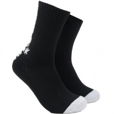 The Hundreds Bar Crew Socks - Black