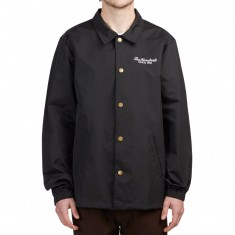 The Hundreds Rich Coaches Jacket - Black