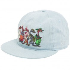 The Hundreds X Roger Rabbit Villain Snapback Hat - Denim
