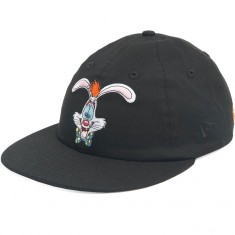 The Hundreds X Roger Rabbit Head Snapback Hat - Black
