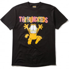 The Hundreds X Garfield Run T-Shirt - Black