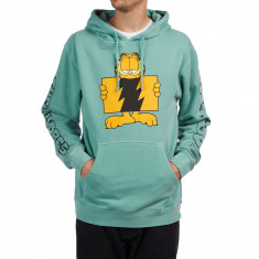 The Hundreds X Garfield Flag Hoodie - Pigment Mint