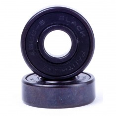 Shorty's Black Panther Abec 5 Skateboard Bearings