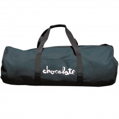 Chocolate Camo Canvas Skate Carrier Duffle Bag - Black
