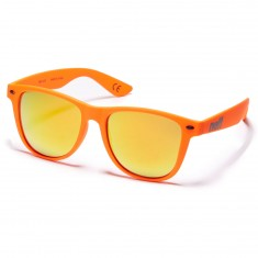 Neff Daily Sunglasses - Orange Rubber