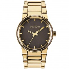 Nixon Cannon Watch - All Gold/Black