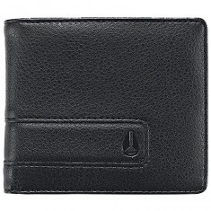 Nixon Showdown Bi-Fold Zip Wallet - All Black