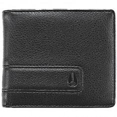 Nixon Showoff Bi-Fold Wallet - All Black