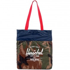 Herschel Tote Bag - Woodland Camo/Navy/Red