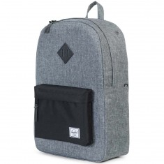 Herschel Heritage Backpack - Raven Crosshatch/Black