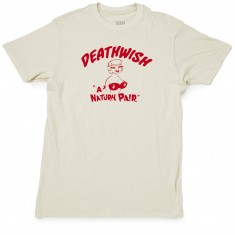 Deathwish Natural Pair T-Shirt - Natural Slub
