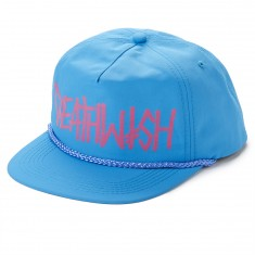 Deathwish Deathspray Snapback Hat - Tahiti Blue