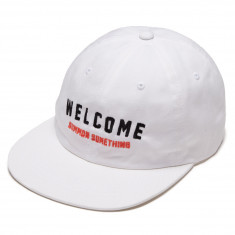 Welcome Academic 2.0 Unstructured Snapback Hat - White/Black/Coral