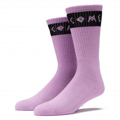 Welcome Summon Socks - Lilac/Black