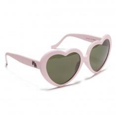 Happy Hour Heart Ons Sunglasses - Pink/G15 Lens
