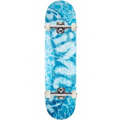 Brimley Water Mustache LENGTH Skateboard Complete - 8.50""