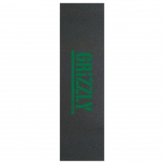 Grizzly Stamp Print Griptape - Green