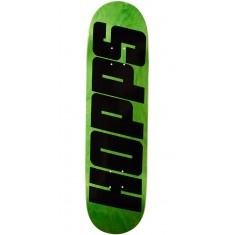 Hopps Bighopps Skateboard Deck - Black/Green - 8.375""