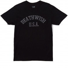 Deathwish Death Sports T-Shirt - Black/Black