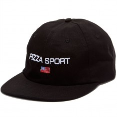 Pizza Sport Hat - Black