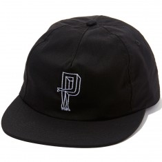 Primitive Legs Snapback Hat - Black