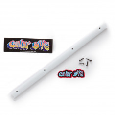 Welcome Candy Bar Rail - White