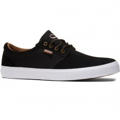 State Elgin Shoes - Black/Brown Suede