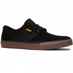 State Elgin Shoes - Black/Gum Suede