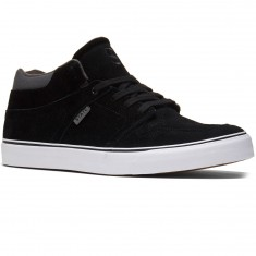 State Mercer Shoes - Black/Pewter Suede