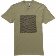 The Killing Floor Wavey Logo T-Shirt - Fatigue Green
